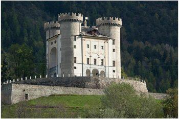 Ristrutturazione castello di Aymavilles
