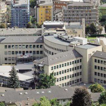 Ristrutturazione reparto geriatria acuti piano terzo fabbricato B Ospedale Regionale Aosta dell' USL1
