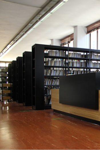 Allestimento del Deposito legale nella Biblioteca Nazionale universitaria di Torino