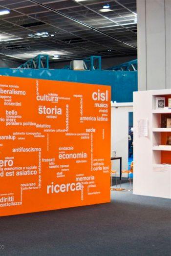 Stand Istituti culturali del Piemonte al XXIII Salone internazionale del libro di Torino
