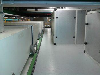 HVAC linea KCIOCC-isola modellati Ferrero – Stabilimento di Alba