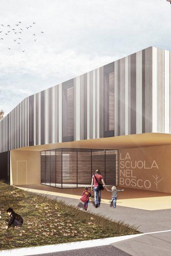 Progettazione della nuova scuola di viale Torino a Cesenatico