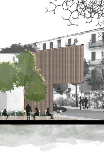 Nuova biblioteca del quartiere Lorenteggio a Milano