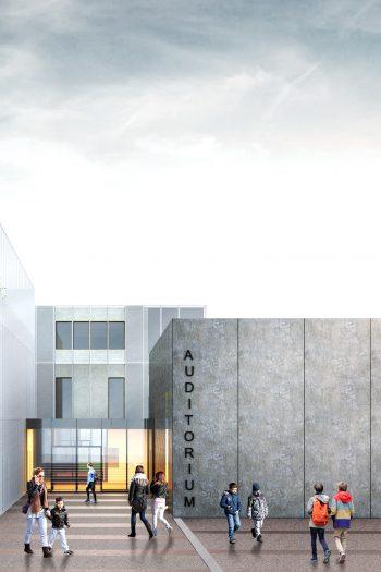 Nuova scuola media Panzacchi di Ozzano dell'Emilia