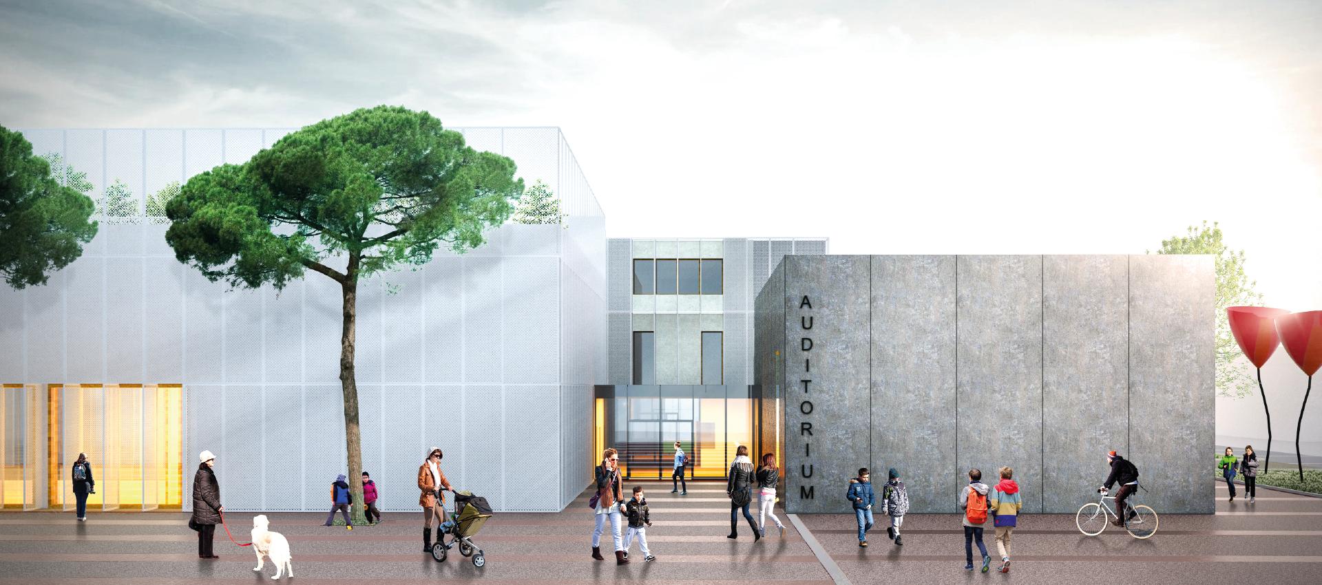 AREAPROGETTI si aggiudica il progetto per la nuova scuola media Panzacchi di Ozzano dell'Emilia